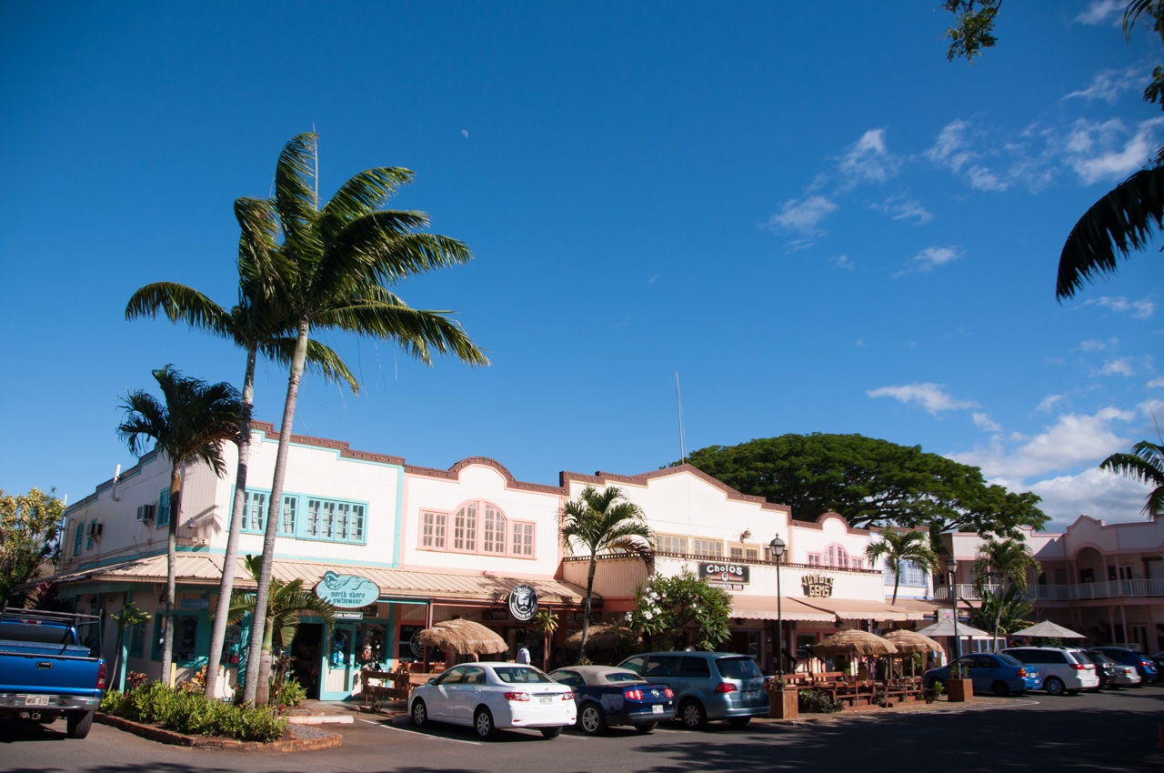 Northshore Haleiwa Shopping Mall